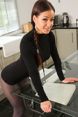 Hot Secretary Kristina