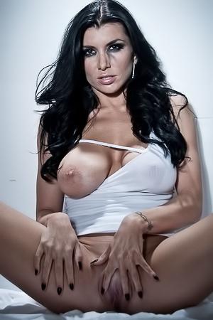 Dirty brunette Romi Rain