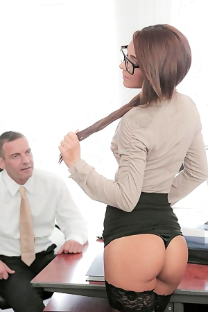 Alexis Brill Hard Office Fuck