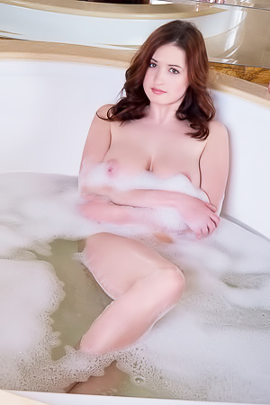 Keita - wet busty brunette