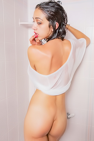 Belle Wood - xxx shower