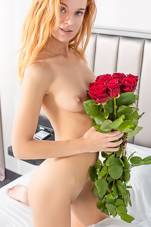 Redhead Ingrid Gets Sensual Pleasure