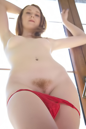 Linda Sweet In Erotic Red Lingerie