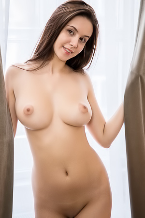 Big Titted Brunette Angel Alisa I