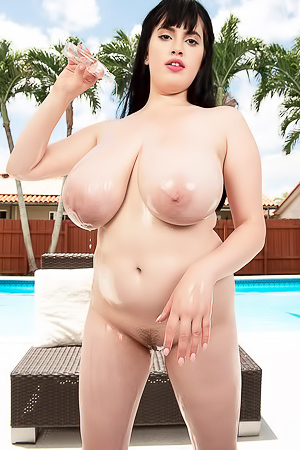 Dina Sahari Takes Off Her Bikini And Shows Her Big Boobs