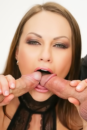 Tina Kay Fucks With Two Guys