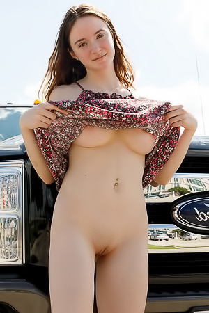 Hazel Moore flashing