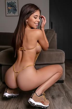 Violet Summer Nude