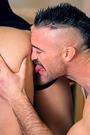 Vanessa Sky Gets Cum Portion In Mouth
