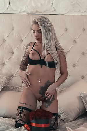 Tattooed Blonde Abigail