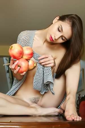 Russian Sweetheart Leona Mia With Perfect Peach Of An Ass